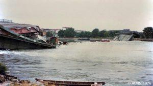 Reichsbrücke Einsturz 1976