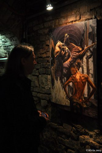 Vernissage in der Johanneskapelle
